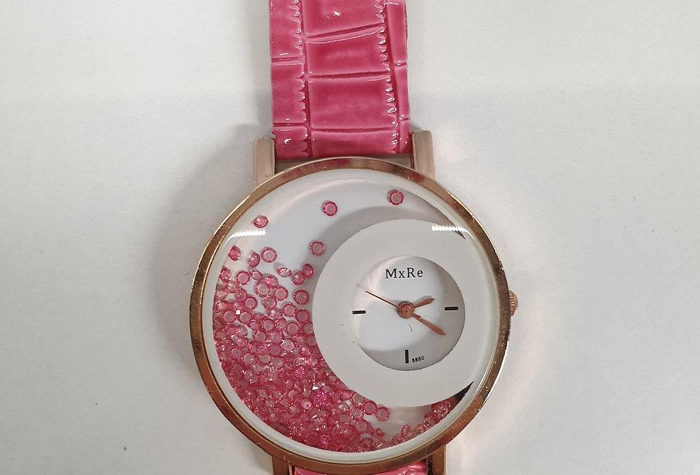 Horloge Design Red