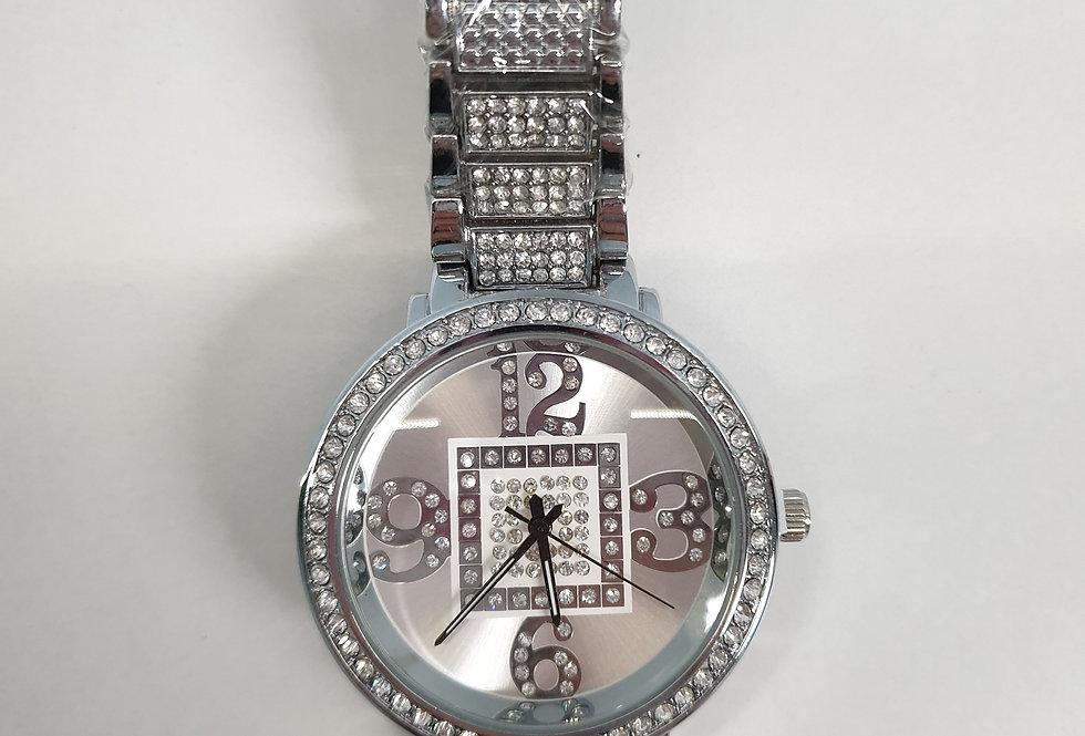 Horloge Diamond Silver