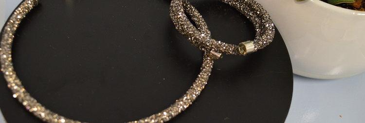 Juwelenset Glitter Gold