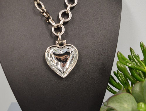 Halsketting Heart Silver