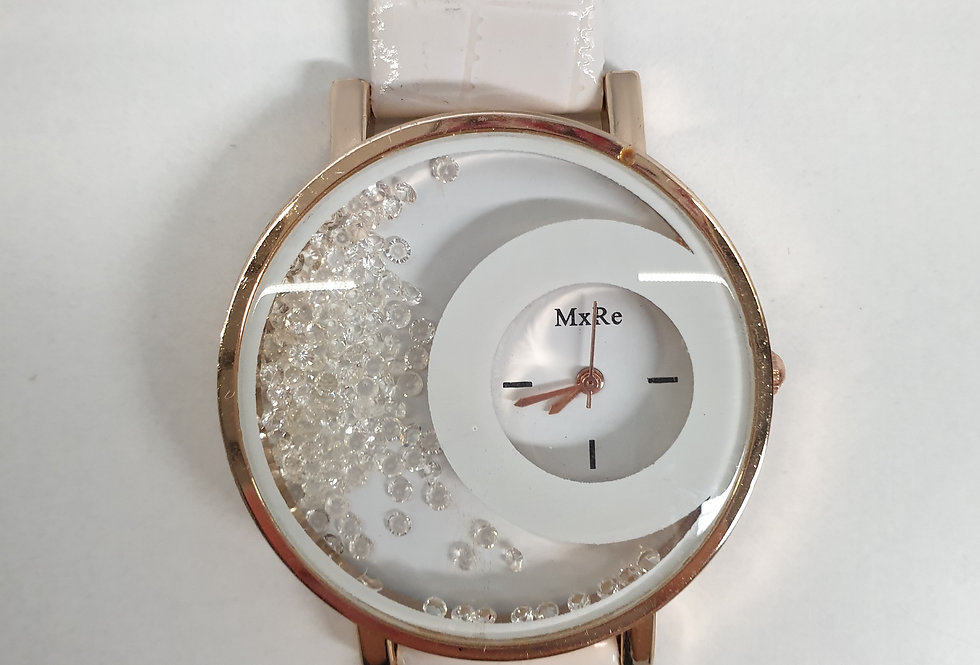 Horloge Design White