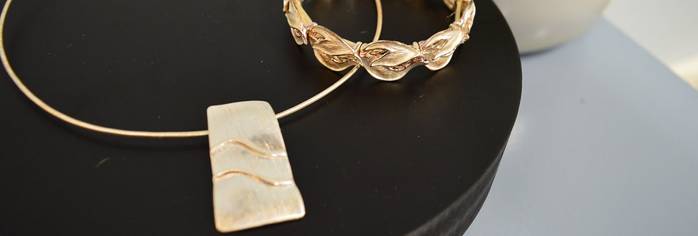 Juwelenset Modern Gold