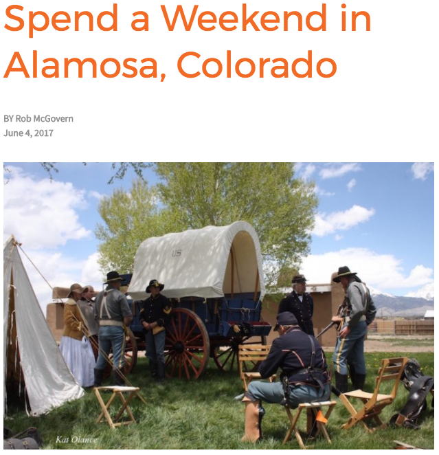 A Weekend in Alamosa, Colorado