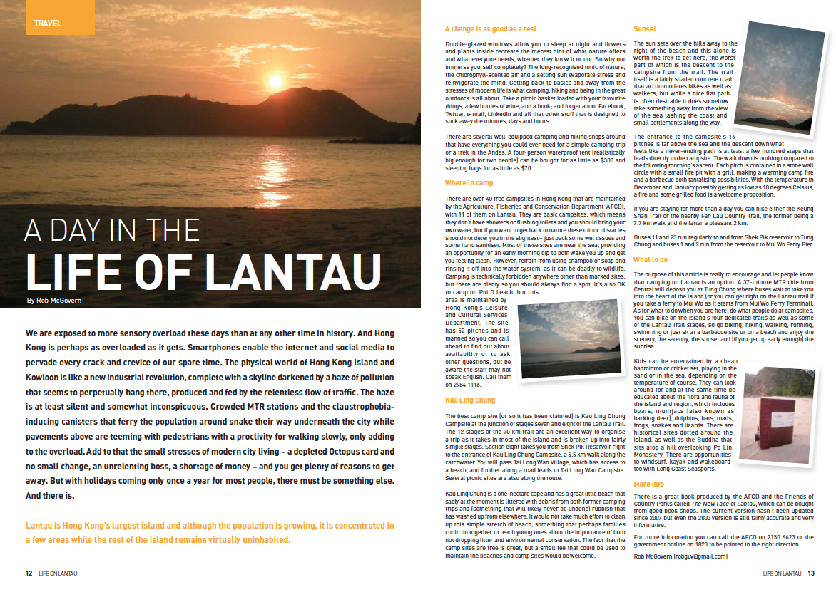 A Day in the life of Lantau