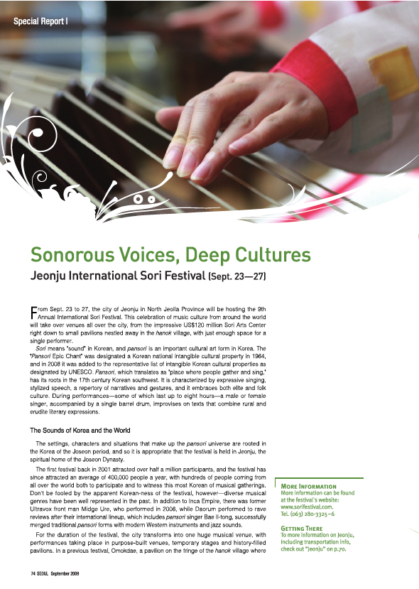 Sonorous Voices