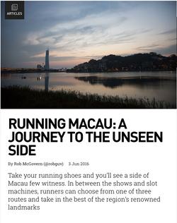 Running Macau