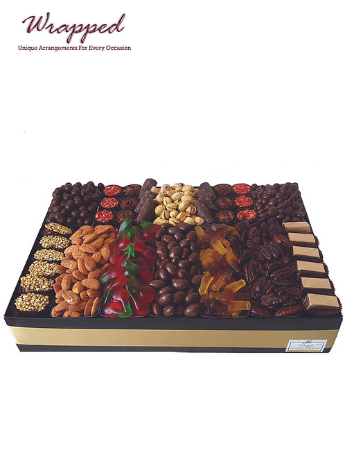 Chocolate, Nuts & Candy Platter Large