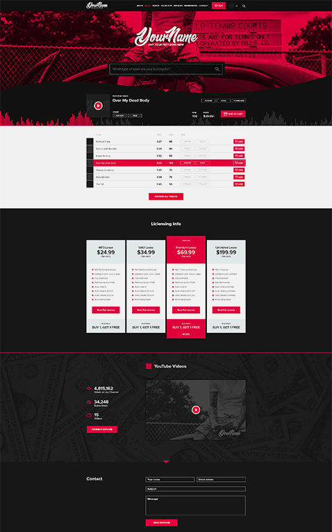 Premade Layout #01