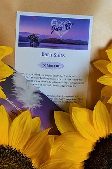 CBD Bath Salts - 50mg CBD 8oz.