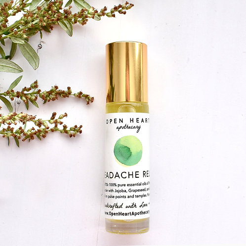 Headache Relief Essential Oil Roll-On Sage & Mint