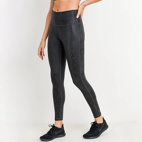 Black Mamba Snake Legging