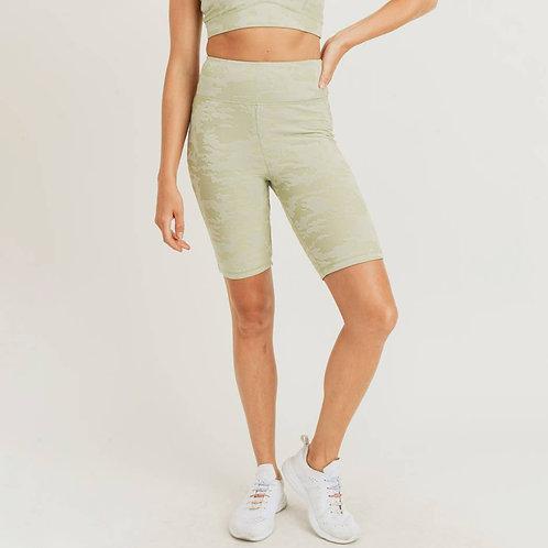 3D Camo Bermuda Shorts