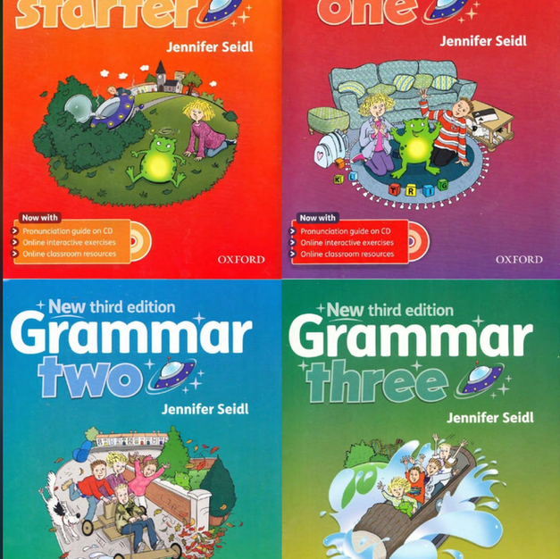 Grammar Series (Oxford) by Jennifer Seidl (Primary/Early Secondary) A1-A2