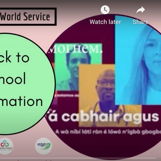 Covid-19 World Service Multilingual Videos for Families