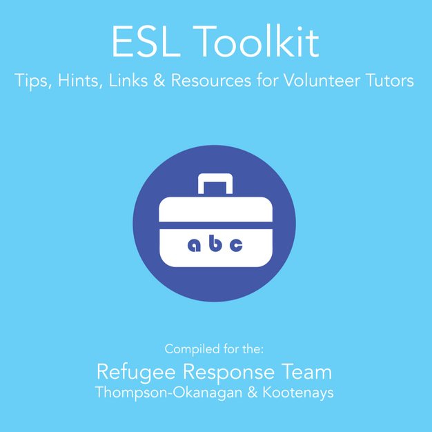 ESL Toolkit  Tips, Hints, Links & Resources for Volunteer Tutors