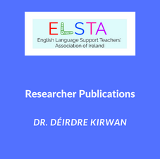 Researcher Publications - Dr. Déirdre Kirwan