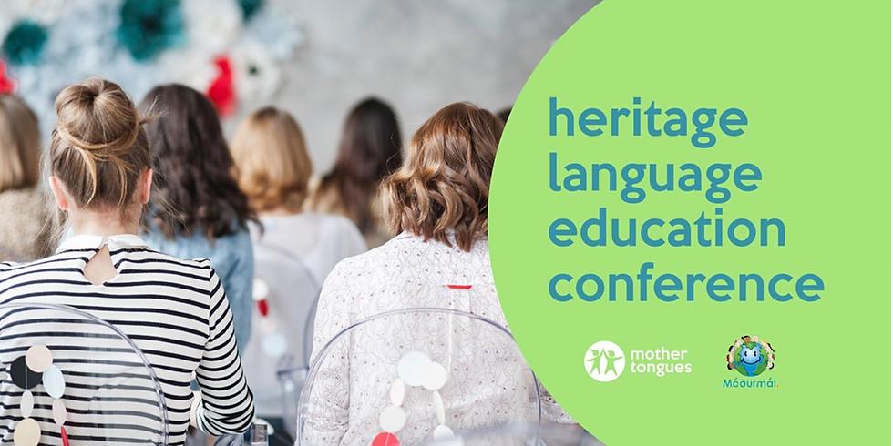 Heritage Language Education Conference - Mother Tongues Ireland