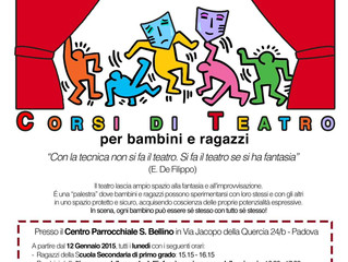 Workshop di teatro per bambini