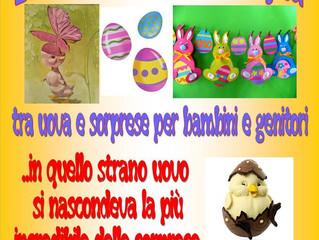 Laboratorio di Pasqua,  tra uova e sorprese per bambini e genitori