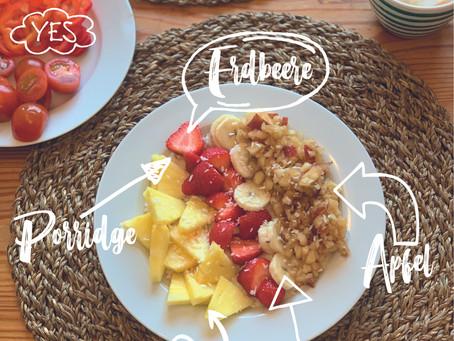 Frühstücken mit M&M