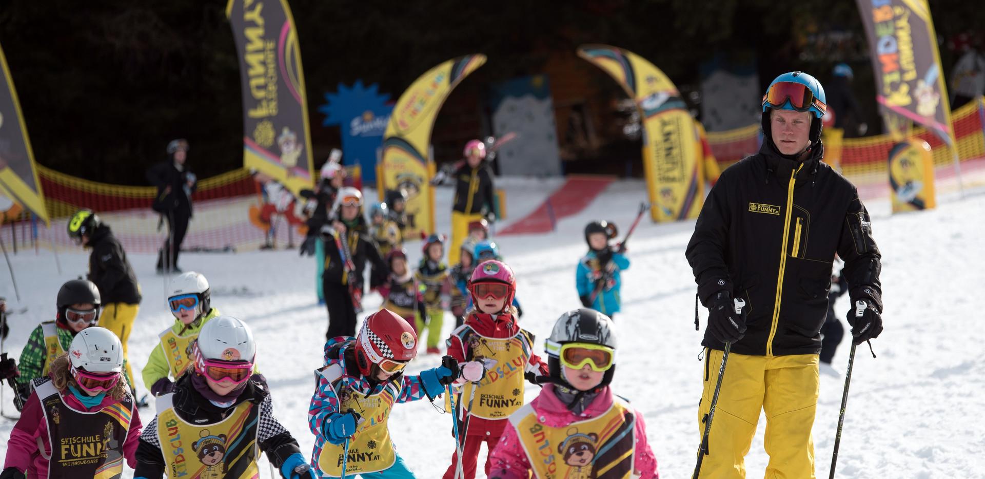 Auf zum Skifahren