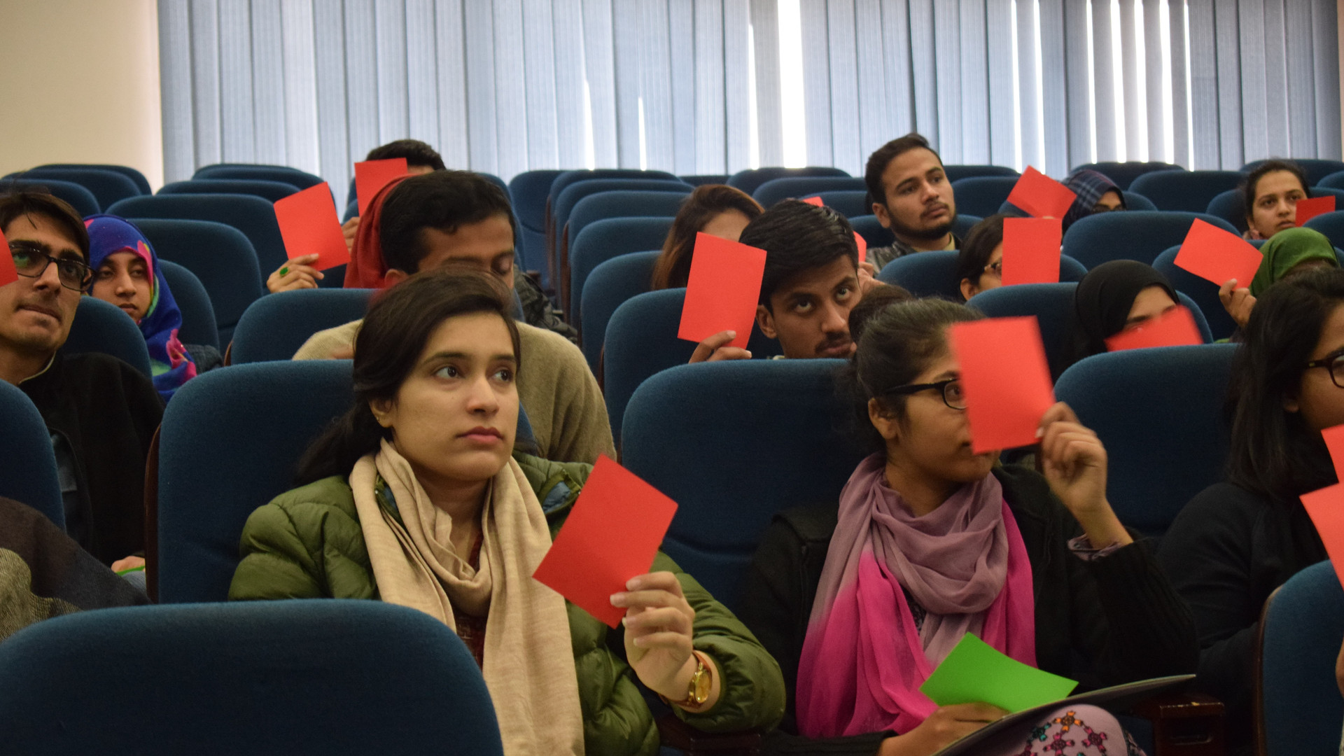 Interactive information session at NUST.