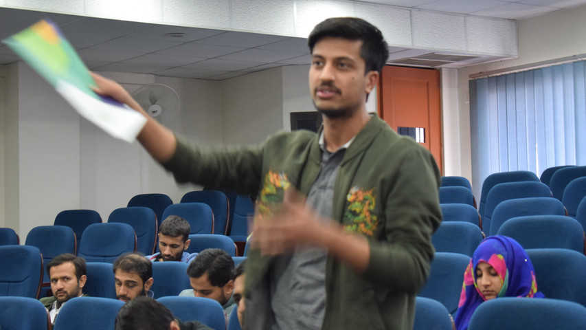 Interactive information session at NUST