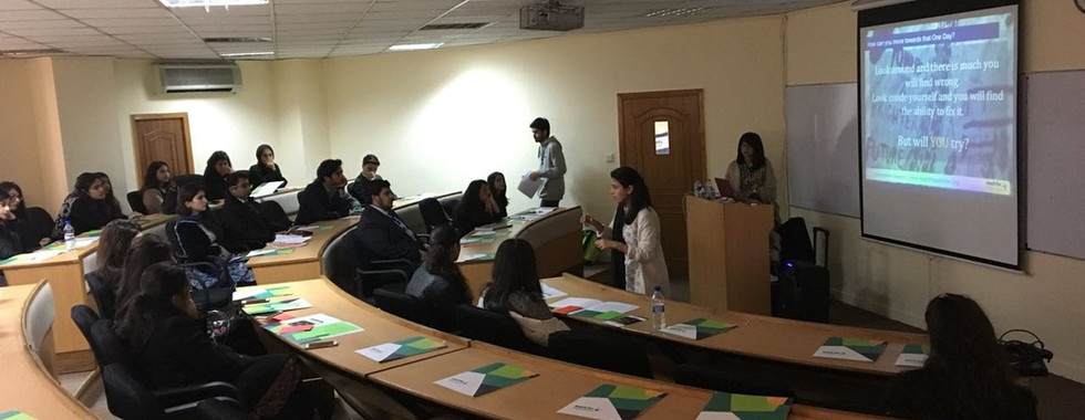 Information session at FAST