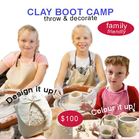 Clay Boot Camp/3hrs