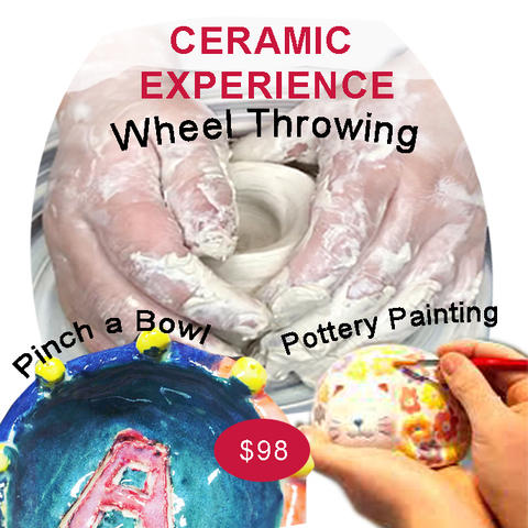 Ceramic Experience/2.5hrs