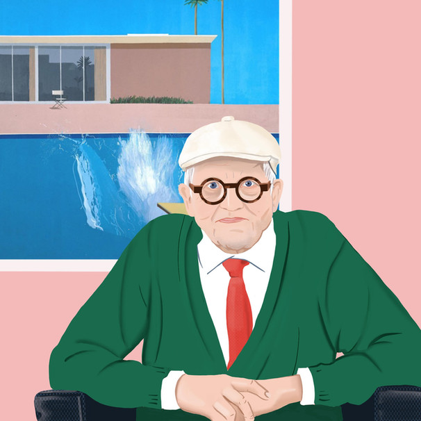 David Hockney | Portrait