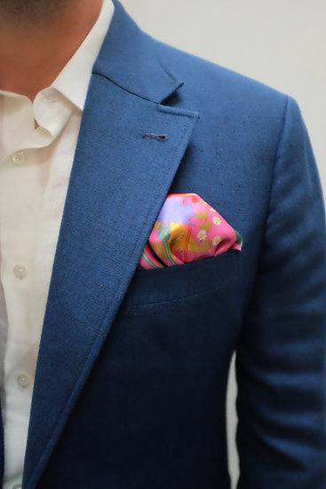 'IN BLOOM' Pocket Square