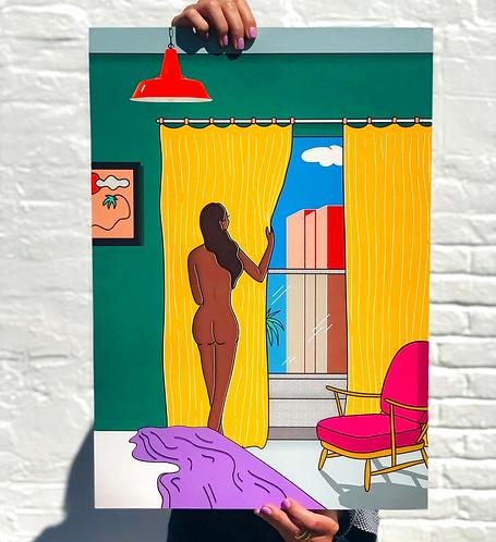 'LA' Inside Out Series print