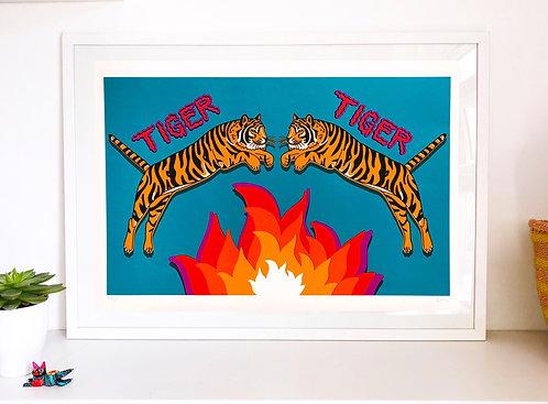 'TIGER TIGER' print