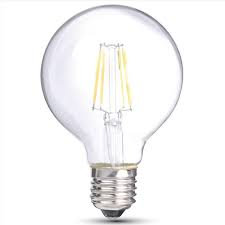 LIGHTUP LED Filament 6W G95 E27 Warm Dimmable