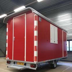 schaftwagen in bedrijfskleur