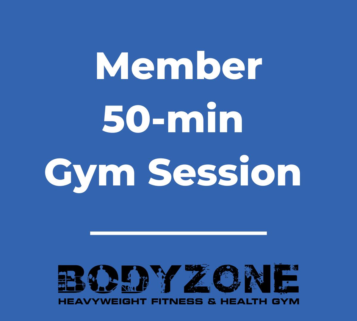 50-min Member Gym Session