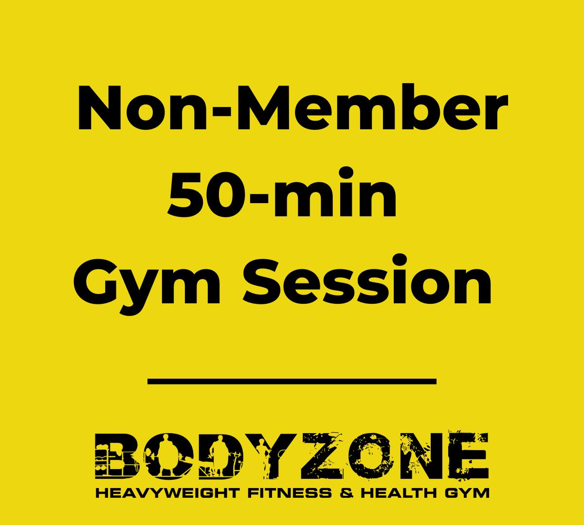 50-min Non-Member Gym Session