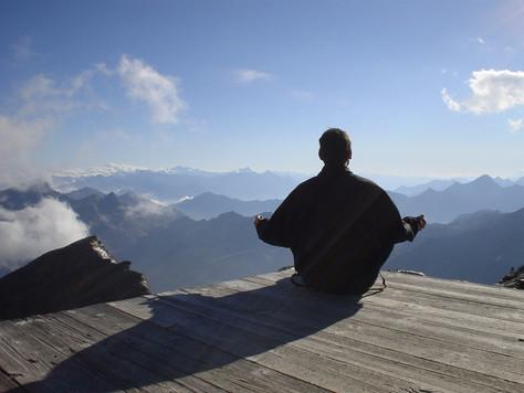 Медитация не является деятельностью ума
