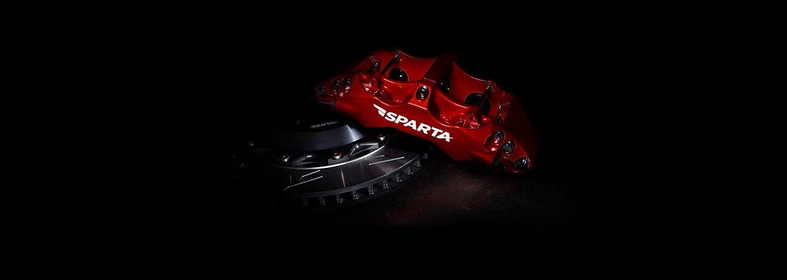 Red Triton Brake Kit