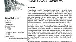 COS Bulletin 193 (Autumn 2021)