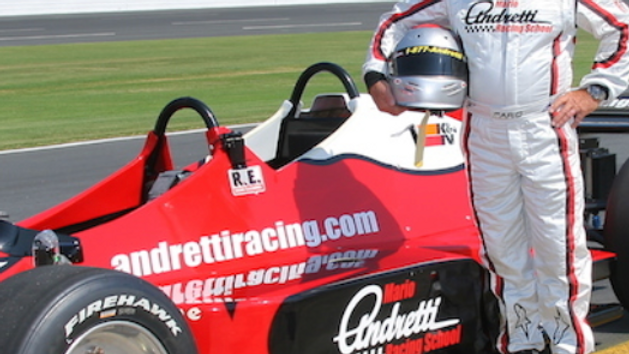 Driving Experience: Mario Andretti at Nashville Superspeedway (for 1)