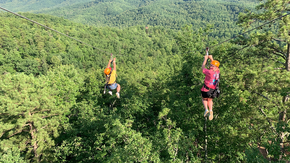 Spectacular Smoky Mountain Zipline Adventure (for 4)