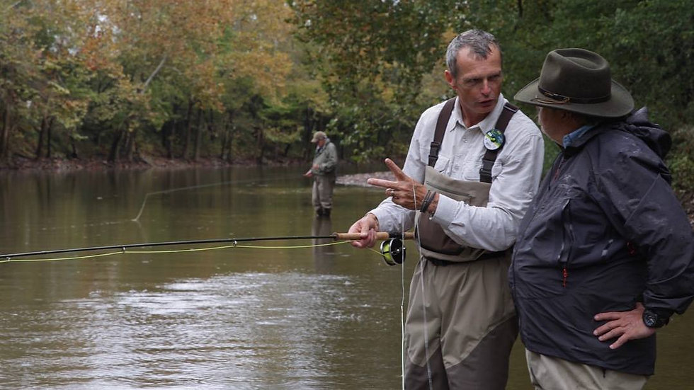Private Guided Fly Fishing Nashville Experience (for 2)