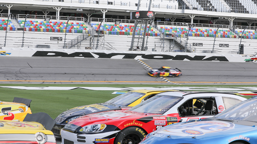 Driving Experience:  NASCAR at Charlotte Motor Speedway (for 1)