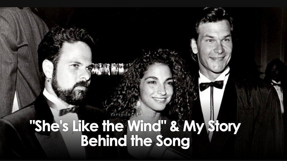"""Virtual Experience with """"She's Like The Wind"""" Songwriter"""