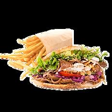 Kebab frite