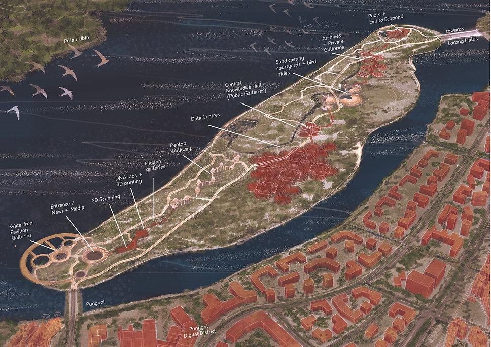 Coney Island - Site Axonometric