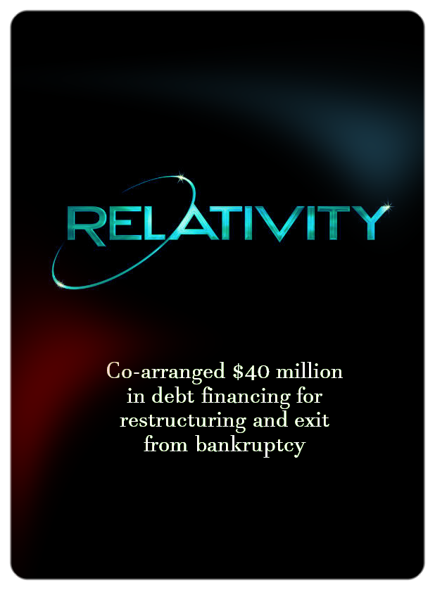 Relativity (Financing Restructure)
