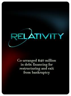 Relativity (Financing Restructure)